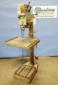 Floor Mount Drill Press by 25 U2033 Used Boice Crane Floor Drill Press Geared Sterling Machinery