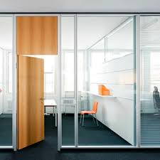 cloison et séparation en aluminium vitrée open space bureau