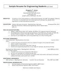Sample Mechanical Engineering Internship Resume Sales Engineer