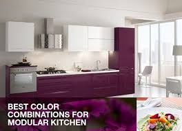 Best color binations for modular kitchen