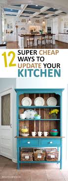 12 Ways To Update Your Kitchen Cheap UpdatesCheap RemodelCheap