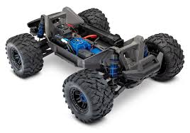100 Truck Maxx TRA890764 Blue 110 Monster RTR Without Battery Charger