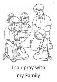Primary 3 Lesson 19 Heavenly Father Helps Us When We Pray Journal Page Coloring Sheet From The Friend November 2000 Here