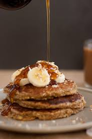 Bisquick Pumpkin Puff Pancakes by Gluten Free Peach And Oat Pancakes Cookie And Kate