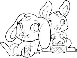 Happy Easter Bunny Coloring Pages Page Bugs To Print Animal Free