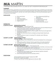 Curriculum Vitae Sample For Executive Secretary Resume Example Of Examples Administrative Assistant Com Se Legal