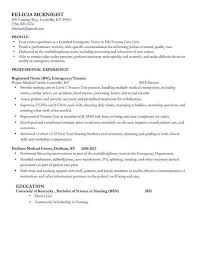 Writing A Professional Resume New Examples Basic Best Bsn Nurse 0d