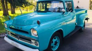 1957 Dodge D/W Truck For Sale Near Cadillac, Michigan 49601 ... 1957 Dodge Pickup Chrome For Sale All Collector Cars File1957 Pop Truck 8218556jpg Wikimedia Commons D100 For Classiccarscom Cc1073496 Danbury Mint Sweptside 1 24 Cot Ebay Im Looking To Trade Muscle Mopar Forums Realworld Classic Trucking Hot Rod Network S72 Austin 2015 Bobs 1985 Dodge Truck Bills Auto Restoration Giant Power Wagon W100 12 Ton Rare Factory 4x4 Of At Vicari Auctions Biloxi 2017 Information And Photos Momentcar