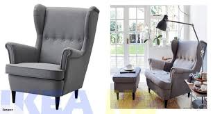 grey wing chair ikea home design health support us