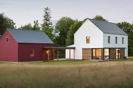 Prefab Homes From Go Logic Offer 'rural Modernism' Assembled In 2 ... Best 25 Pole Barn Plans Ideas On Pinterest Barn Miscoast Maine Homes With Barns For Sale Camden Me Real Estate Bygone Living Dream Ma Ct Sheds Garages Post Beam Pavilions Ri Modulrsebarnhighpfilewithoverhangs4llstackroom Wikipedia Garage Shop Garage