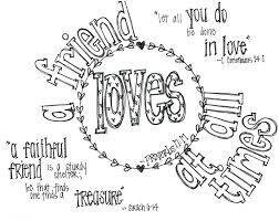 Friend Loves Valentine Coloring Page Measuring Gods Love God Everyone Me Sheets Full Size