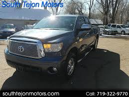 100 Trucks For Sale In Colorado Springs Used 2010 Toyota Tundra For In CO 80903 South