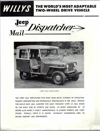 100 Who Makes Mail Trucks 1955jeepdisaptchermailflyer Willys Jeep Jeep Vehicles