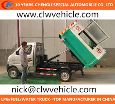 China Small Garbage Truck 4X2 Rubbish Collector Truck Mini Rubbish ...