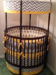 Bratt Decor Crib Skirt by Round Cribs Bratt Decor Baby Room 2in1 Convertible Crib And