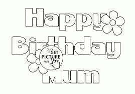 Large Size Of Templatehappy Birthday Card Printable Coloring Page Happy
