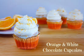 The Cupcake Project Orange White Chocolate Cupcakes