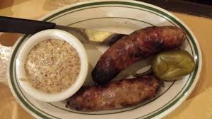 cuisine alligator alligator sausage and a poppy seed mustard picture of gumbo shop