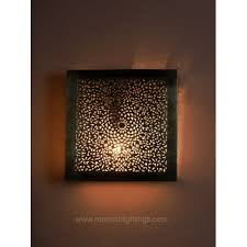 modern wall sconces moroccan filigree wall ls