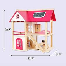 Wooden Delicate Dollhouse Furniture Toys Miniature Threedimensional