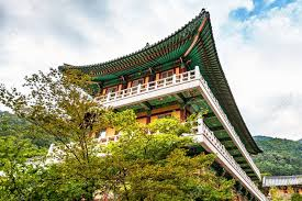 104 South Korean Architecture Traditional Old Building Or Monks Temple In Korea Stock Photo Picture And Royalty Free Image Image 36848997