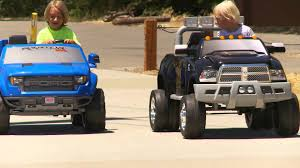 Power Wheels Truck Sidewalk Race - YouTube Amazoncom Kid Trax Red Fire Engine Electric Rideon Toys Games Tonka Ride On Mighty Dump Truck For Kids Youtube Buy Kids Cars Childs Battery Powered Rideon Bestchoiceproducts Best Choice Products 12v Ride On Semi Truck Memtes Toy With Lights And Sirens Popular Chevy Silverado 12 Volt Car 2018 New Model 4x4 Jeep Battery Power Remote Control Big Orange 44 Defender Off Roader Style On W Transformers Style Childrens For Ford F150 Wheels