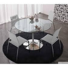 table de cuisine ronde en verre table design ronde en verre et vente de table en verre
