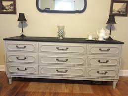 Pier One Imports Mirrored Chest by Vintage Dresser Server Buffet By Style Mark Hand Painted In Paris