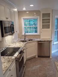 Corner Kitchen Cabinet Ideas by Best 25 Corner Kitchen Sinks Ideas On Pinterest White Kitchen