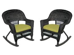 2-Piece Tiana Black Resin Wicker Patio Rocker Chairs Set - Green Cushions -  31556420 Awesome 3 Piece Garden Set Fniture Rattan Outdoor Chair Cloud Mountain Wicker Rocking Black Rock Bistro Comfortable Modern Easy Assembly Patio Lawn 2piece Tiana Resin Rocker Chairs Green Cushions 31556420 Amaya Swivel With Cushion Of 2 By Christopher Knight Home Wicker Rocker Chair Florals Cushionsset Polywood Presidential Woven For Ideas Amazoncom Alcott Hill French Roast Sets Sale Nursery Red Eaging Weather Interiors Maui Camelback Steel 1