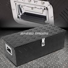 100 Best Truck Tool Box For The Money 30X13X10 BLACK ALUMINUM PICKUP TRUCK TRUNK BED TOOL BOX TRAILER