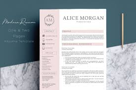 Professional Creative Resume Template - Alice Morgan Free Simple Professional Resume Cv Design Template For Modern Word Editable Job 2019 20 College Students Interns Fresh Graduates Professionals Clean R17 Sophia Keys For Pages Minimalist Design Matching Cover Letter References Writing Create Professional Attractive Resume Or Cv By Application 1920 13 Page And Creative Fully Ms