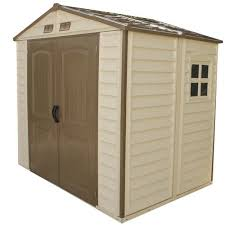 Rubbermaid Outdoor Storage Shed 7x7 by Storeall 8 U0027 X 5 1 2 U0027 Vinyl Shed At Menards