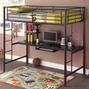 Desk Bunk Bed Combo by Full Bunkbeds With Desk Under