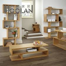Oak Livingroom Furniture Nordic American Ikea Wood Coffee Table Minimalist Modern