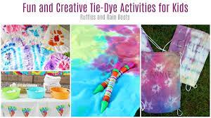 Tie Dye Activities For Teens