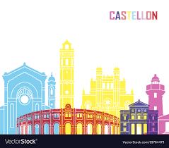 Building In Puerta Del SolCastellonSpain Стоковое редакционное