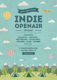 Indie Open Air Festival Flyer And Poster TemplateLike The Way They Is Layed Out Makes A Really Good Eye Catching Flyerr