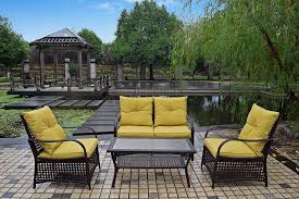 Inexpensive Patio Conversation Sets by Outdoor Furniture Sets On A Budget The Weathered Fox