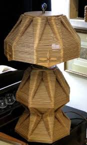I Popsicle Stick Lamps