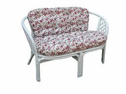 sitzbänke hocker mit bis zu 2 sitzplätzen aus rattan fürs