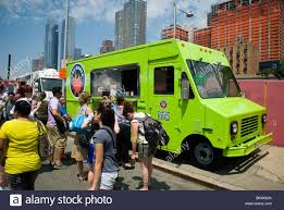 The Krave Korean BBQ Truck Is Seen At The Hell's Kitchen Flea Market ...