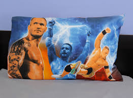 Wwe Wrestling Room Decor by Wwe Pillowcase Wrestling Champions Bedding Accessory Obedding Com