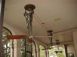belt driven ceiling fans pre 1950 antique antique fan