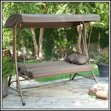 patio swing replacement cushions and canopy patios home