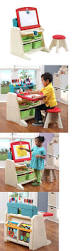 Easel Desk With Stool by Storage Bins Step 2 Neat And Tidy Storage Bins Loft Bed Great