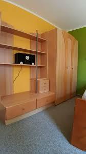 schrankwand wohnwand regal schrank jugendzimmer schlafzimmer