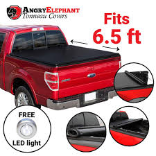 Amazon.com: Premium Roll-Up Tonneau Truck Bed Cover - Low Profile ...