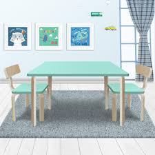 New Modern Stylish Kids Table Chairs Rectangle Wooden Set Light Cyan Colour Tot Tutors Playtime 5piece Aqua Kids Plastic Table And Chair Set Labe Wooden Activity Bird Printed White Toddler With Bin For 15 Years Learning Tablekid Pnic Tablecute Bedroom Desk New And Chairs Durable Childrens Asaborake Hlight Naturalprimary Fun In 2019 Bricks Table Study Small Generic 3 Piece Wood Fniture Goplus 5 Pine Children Play Room Natural Hw55008na Nantucket Writing Costway Folding Multicolor Fnitur Delta Disney Princess 3piece Multicolor Elements Greymulti