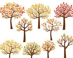 Autumn Tree Clip Art 79